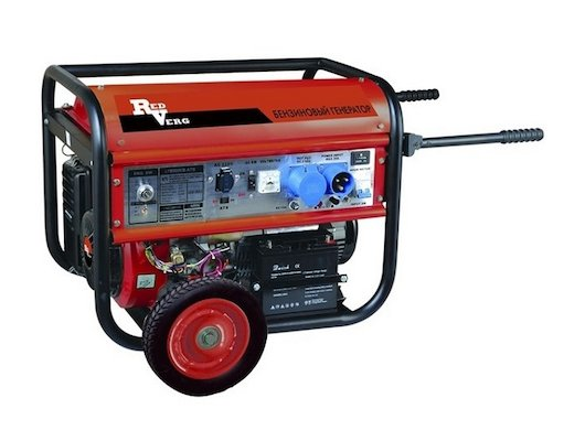 Генератор RedVerg RD-G 6500ENA