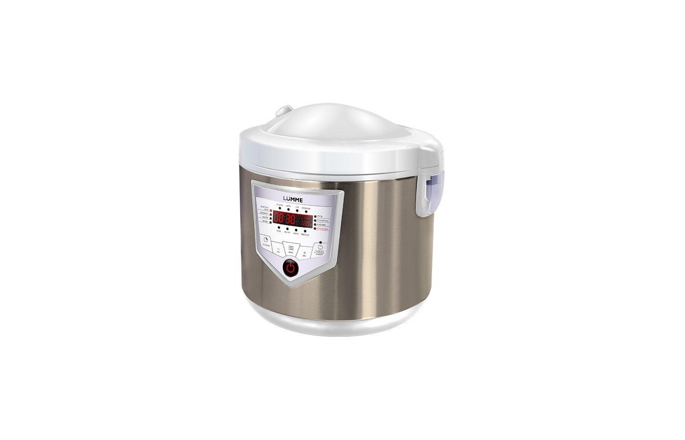 Мультиварка LUMME LU-1446 бел/шампань