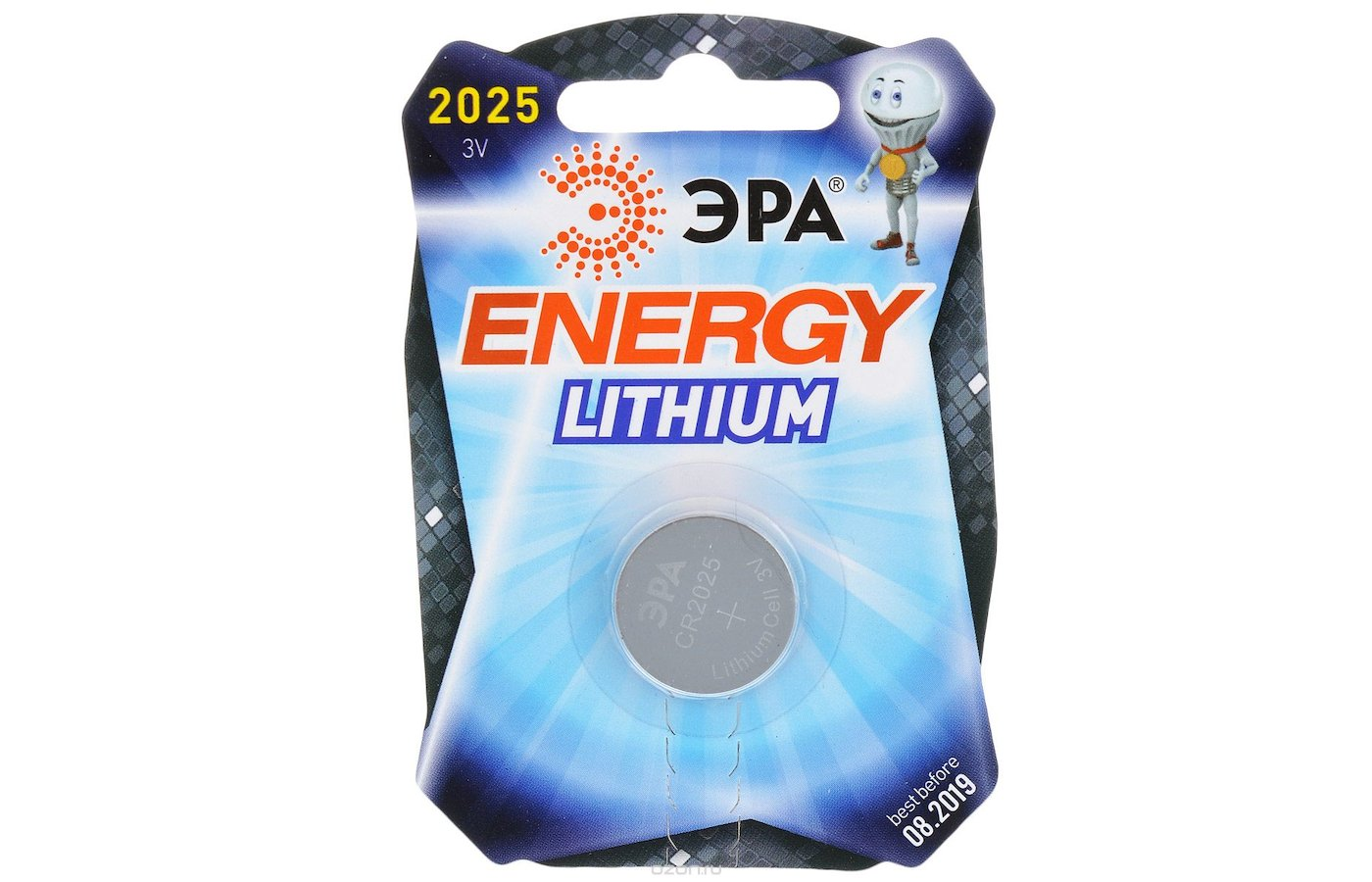 Батарейка ЭРА CR2025 1шт. (CR2025-1BL)