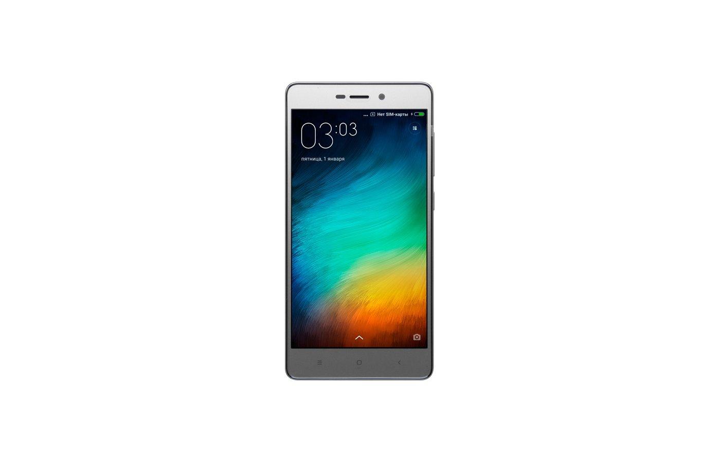 Смартфон Xiaomi Redmi 3S Grey 32GB
