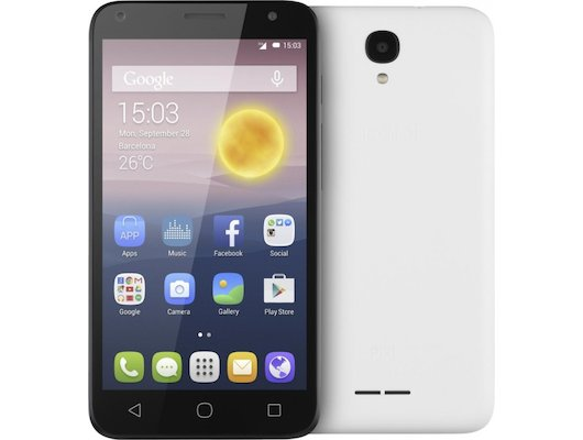 Смартфон Alcatel 5010D PIXI 4 (5) 3G Black/White