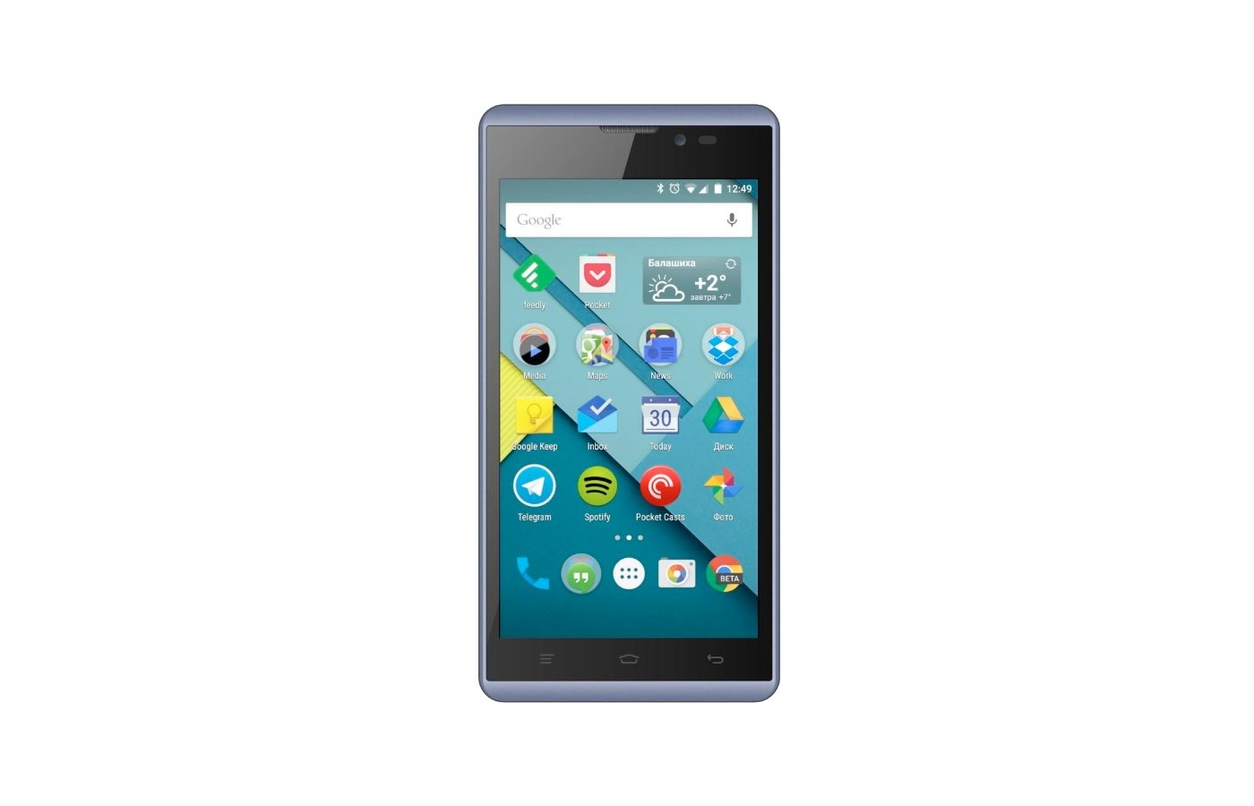 Смартфон Micromax D340 BOLT Blue
