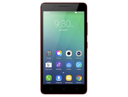 Смартфон LENOVO A6010 DS LTE Red