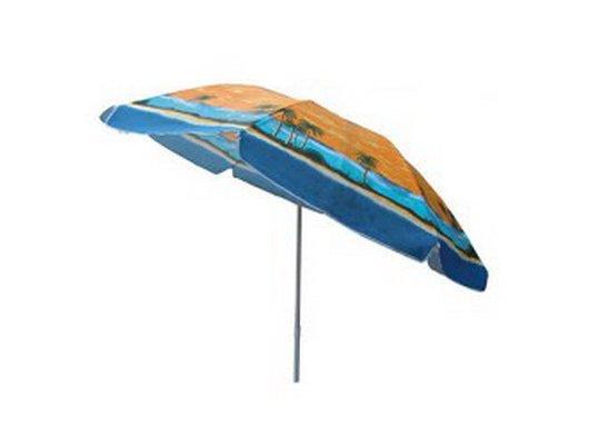 Кемпинг Зонт пляжный с механизмом наклона