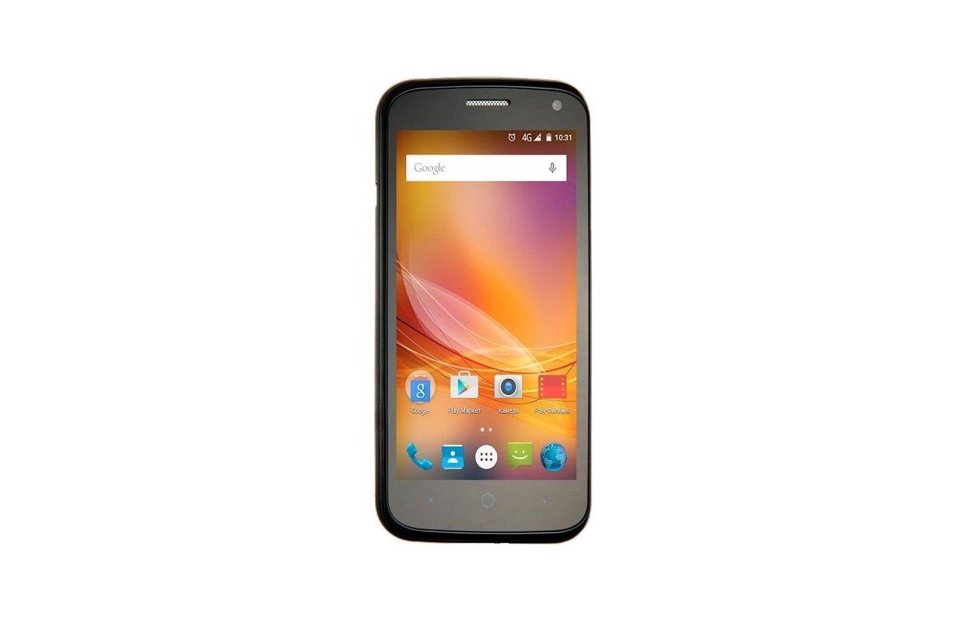 Смартфон ZTE Blade Q Lux Pro Black