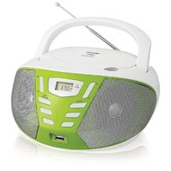 Магнитола BBK BX-193U белый/зеленый