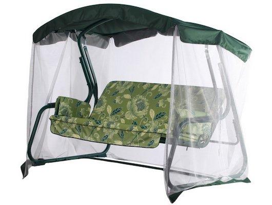 Кемпинг Качели Майами зеленые с АМС