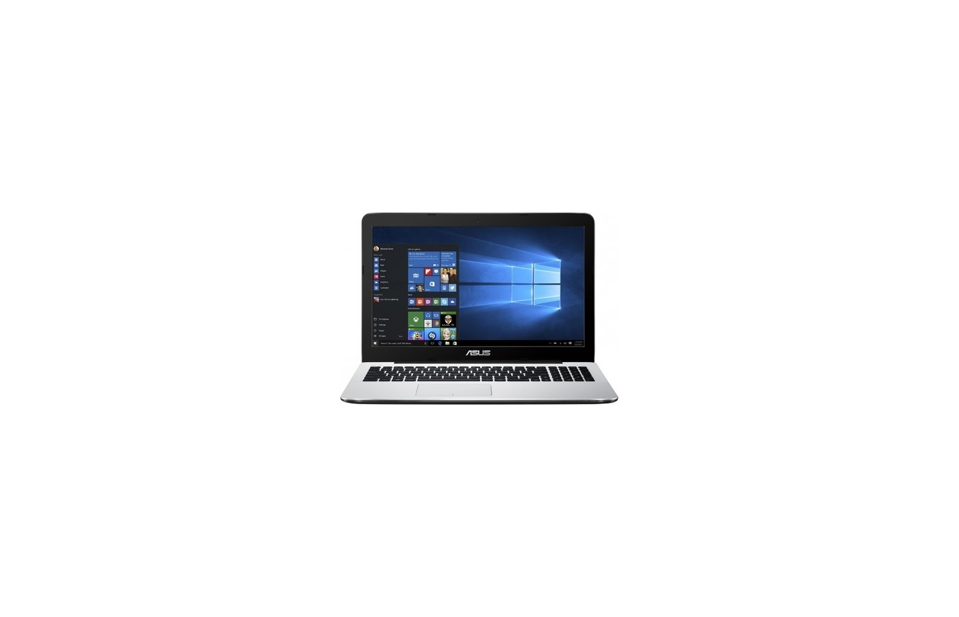 Ноутбук ASUS X555SJ-XX044T /90NB0AK9-M01590/ intel N3700/4Gb/500GB/NV920 1GB/15.6/WiFi/Win10 (White)