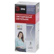 Фото Светильник настольный ЭРА NLED-426-3W-W белый наст.светильник