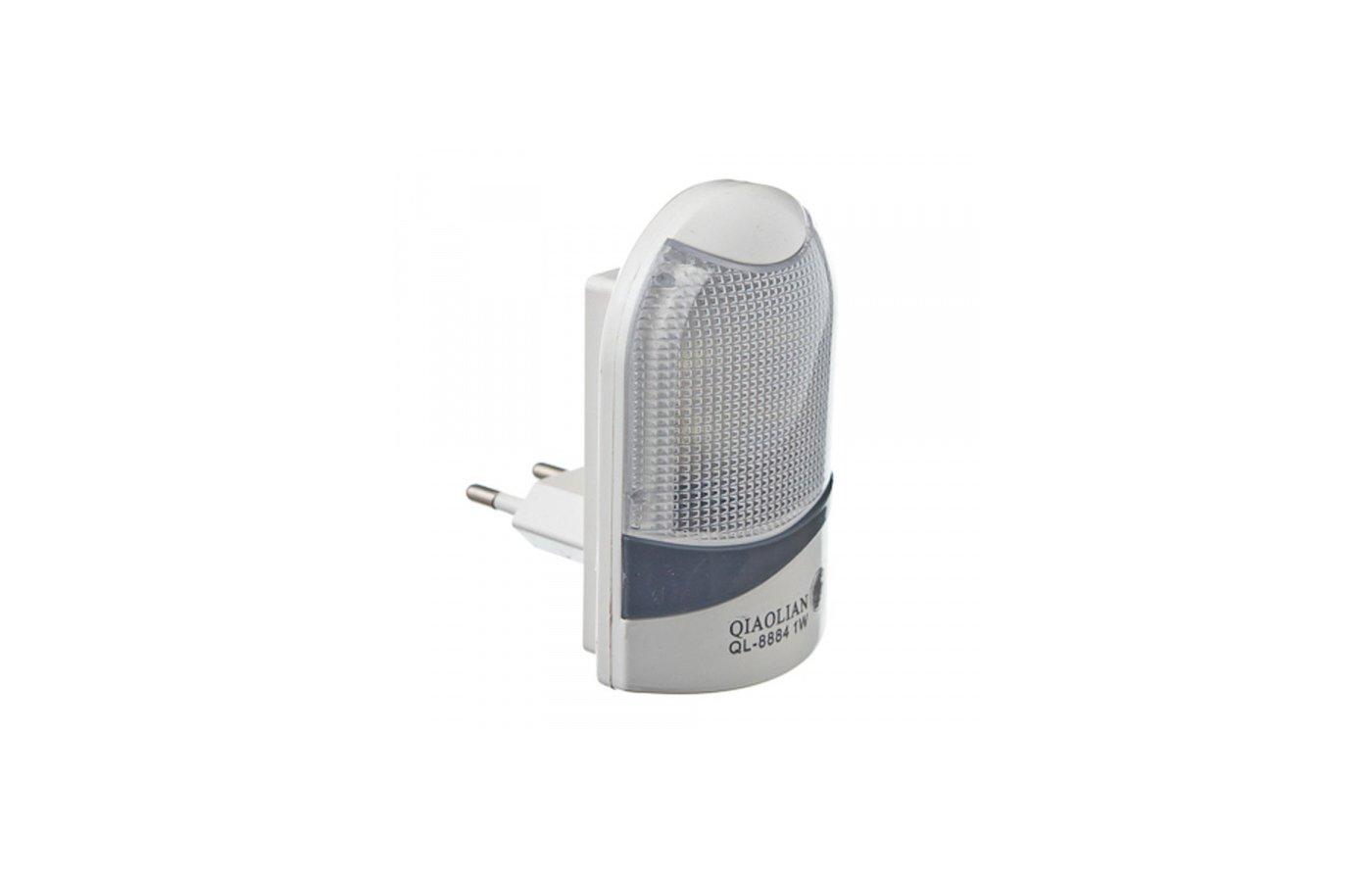 Декоративный светильник 920-013 Ночник светодиодный с выключателем-датчиком освещения 220В