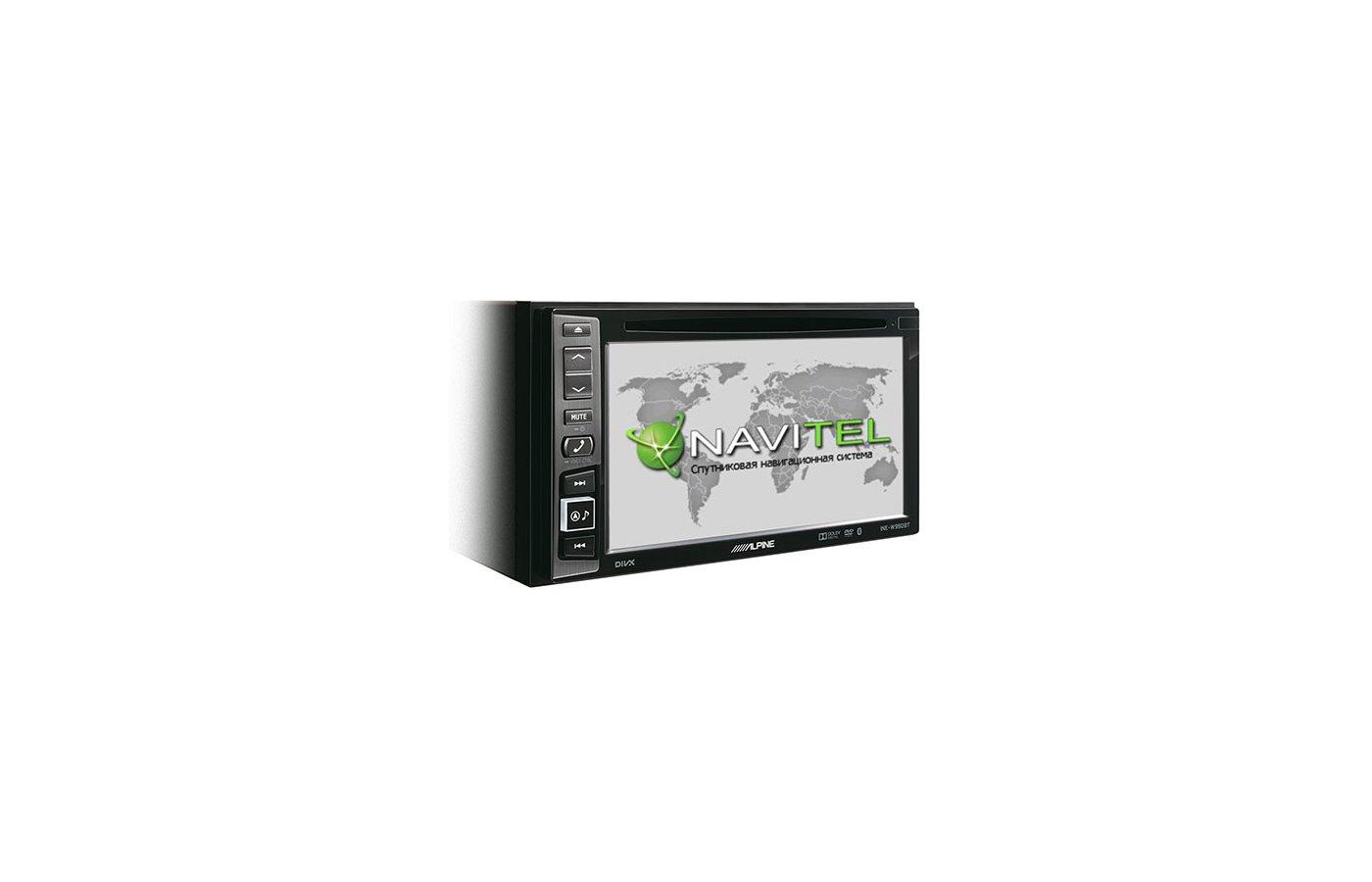 Автомагнитола Alpine INE-W990BT