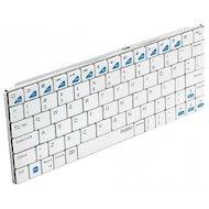 Фото Клавиатура для планшетного ПК Rapoo E6300 белый беспроводная BT