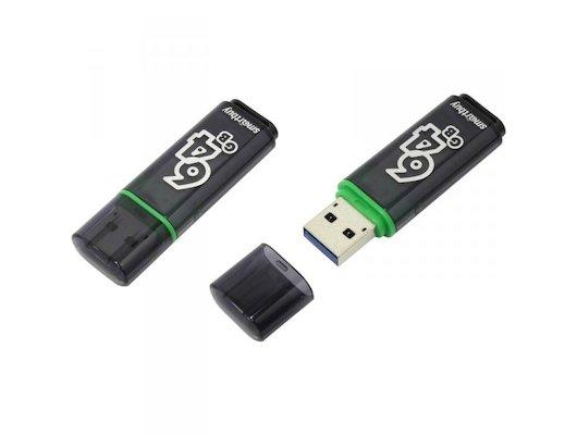 Флеш-диск USB 2.0 64Gb SmartBuy Glossy