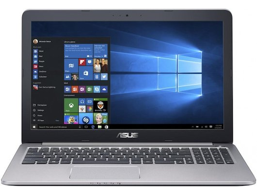 Ноутбук ASUS K501UX-DM201T /90NB0A62-M03360/ intel i5 6200U/8Gb/1Tb/GTX 950M 2Gb/15.6FHD/WiFi/Win10