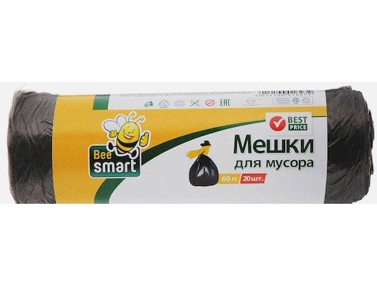 Инвентарь для уборки BEESMART МЕШКИ ДЛЯ МУСОРА 60Л, 20ШТ.