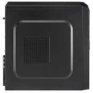 Фото Корпус Aerocool V2X черный без БП ATX 1x92mm 2xUSB2.0 1xUSB3.0 audio