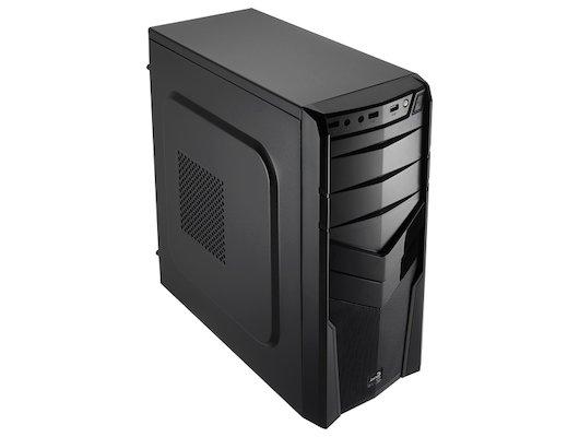 Корпус Aerocool V2X черный без БП ATX 1x92mm 2xUSB2.0 1xUSB3.0 audio