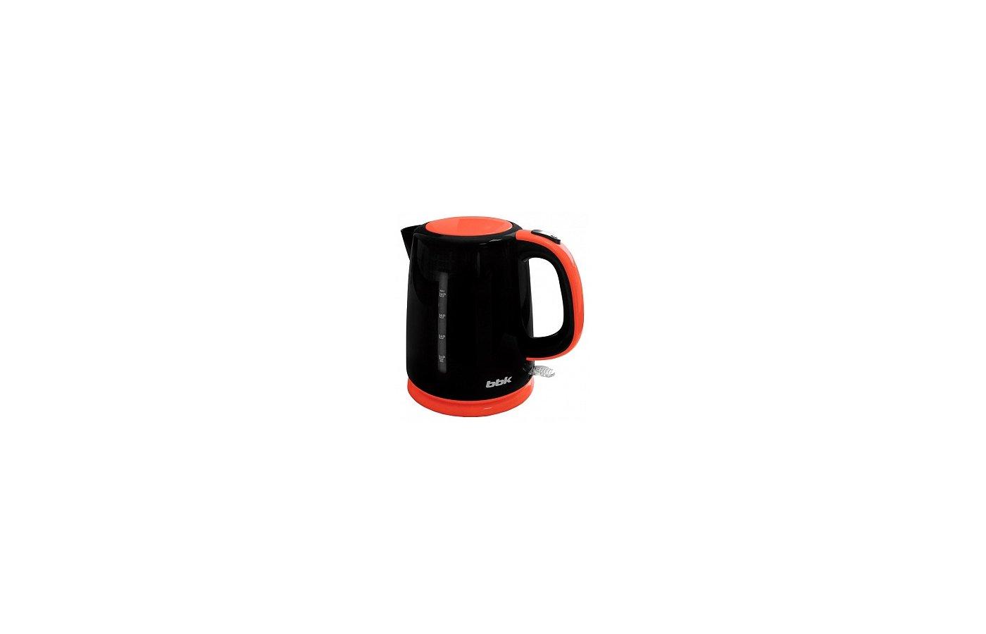 Чайник электрический  BBK EK1730P черн/оранж