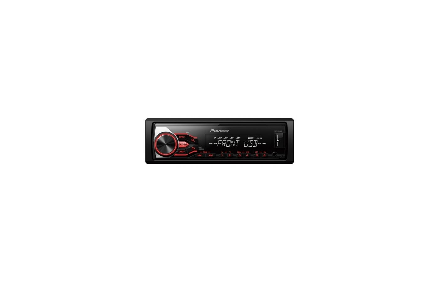 Автомагнитола PIONEER MVH-180UB + PIONEER 12-C-USB-8GB