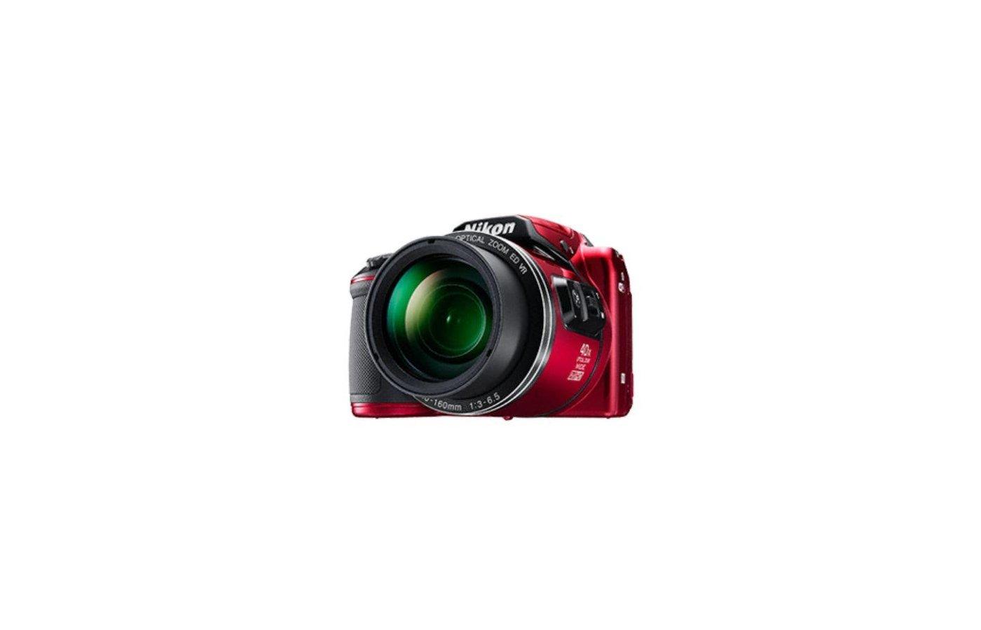 Фотоаппарат компактный Nikon Coolpix B500 red