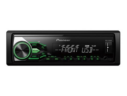 Автомагнитола PIONEER MVH-180UBG + PIONEER 12-C-USB-8GB