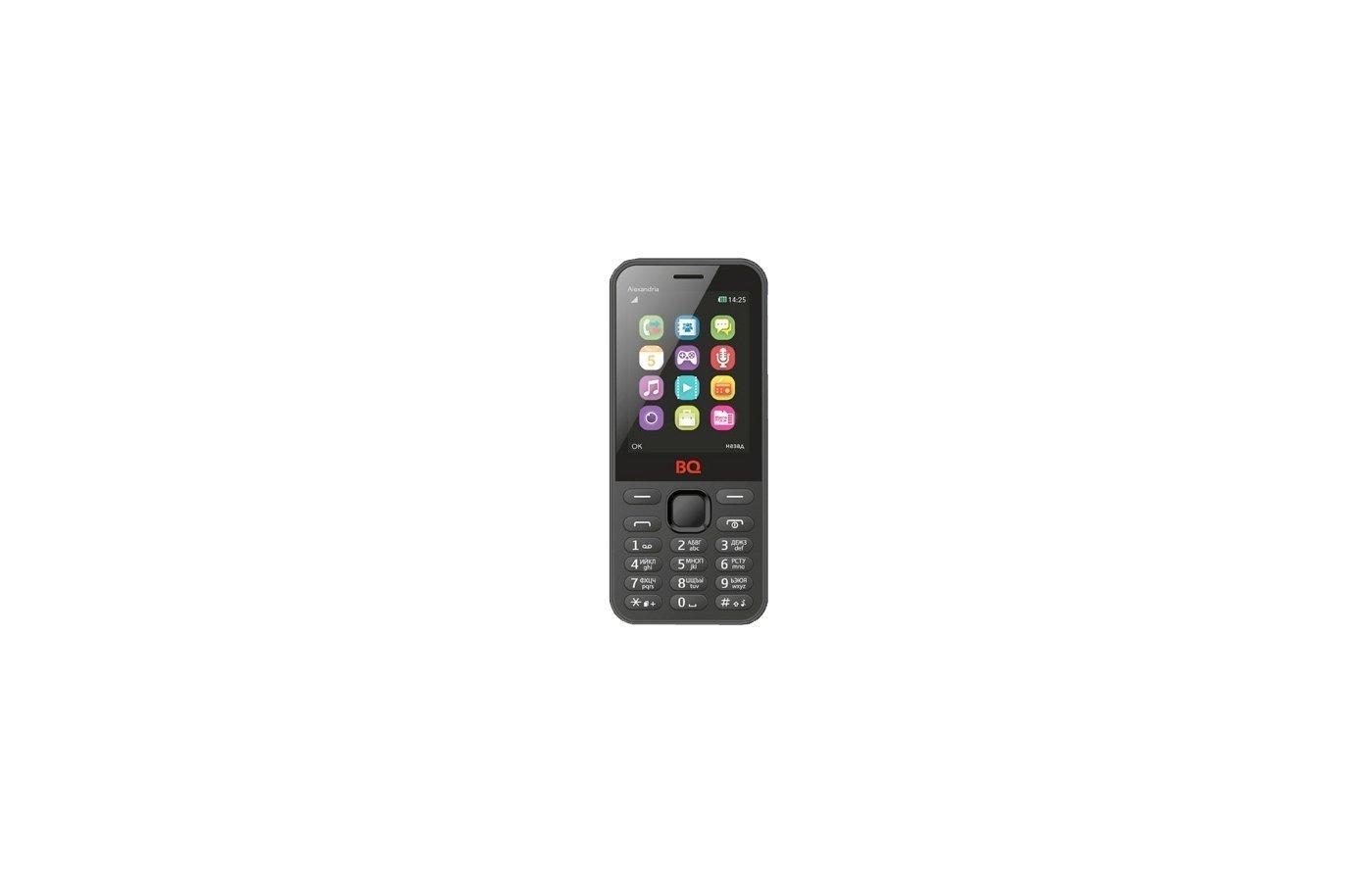 Мобильный телефон BQ BQM-2800 Alexandria Black