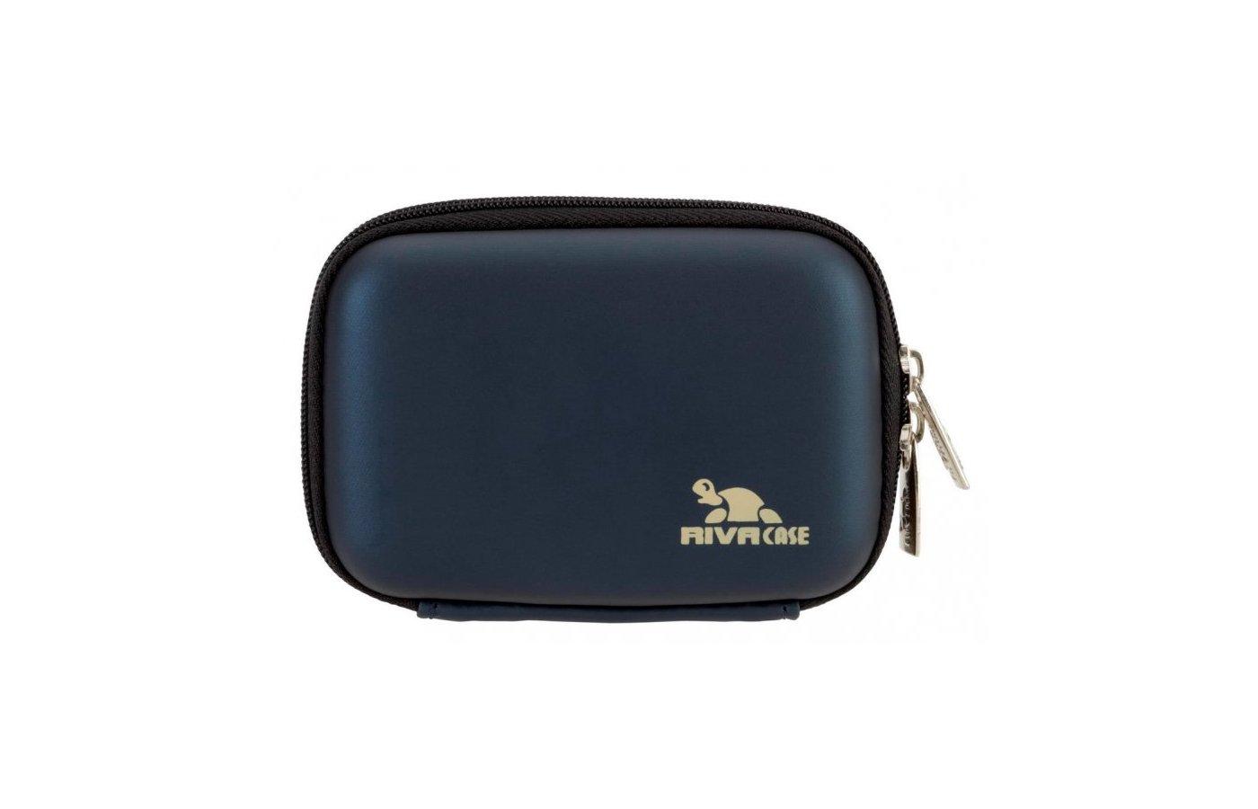 Сумка для фотоаппарата Riva 7023 (PU) Digital Case dark blue