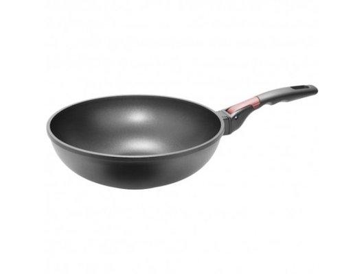 Сковорода WOK Nadoba ВОК 28 см  VILMA литая, 4-х сл. а/п покрытие съемн. ручка 728222