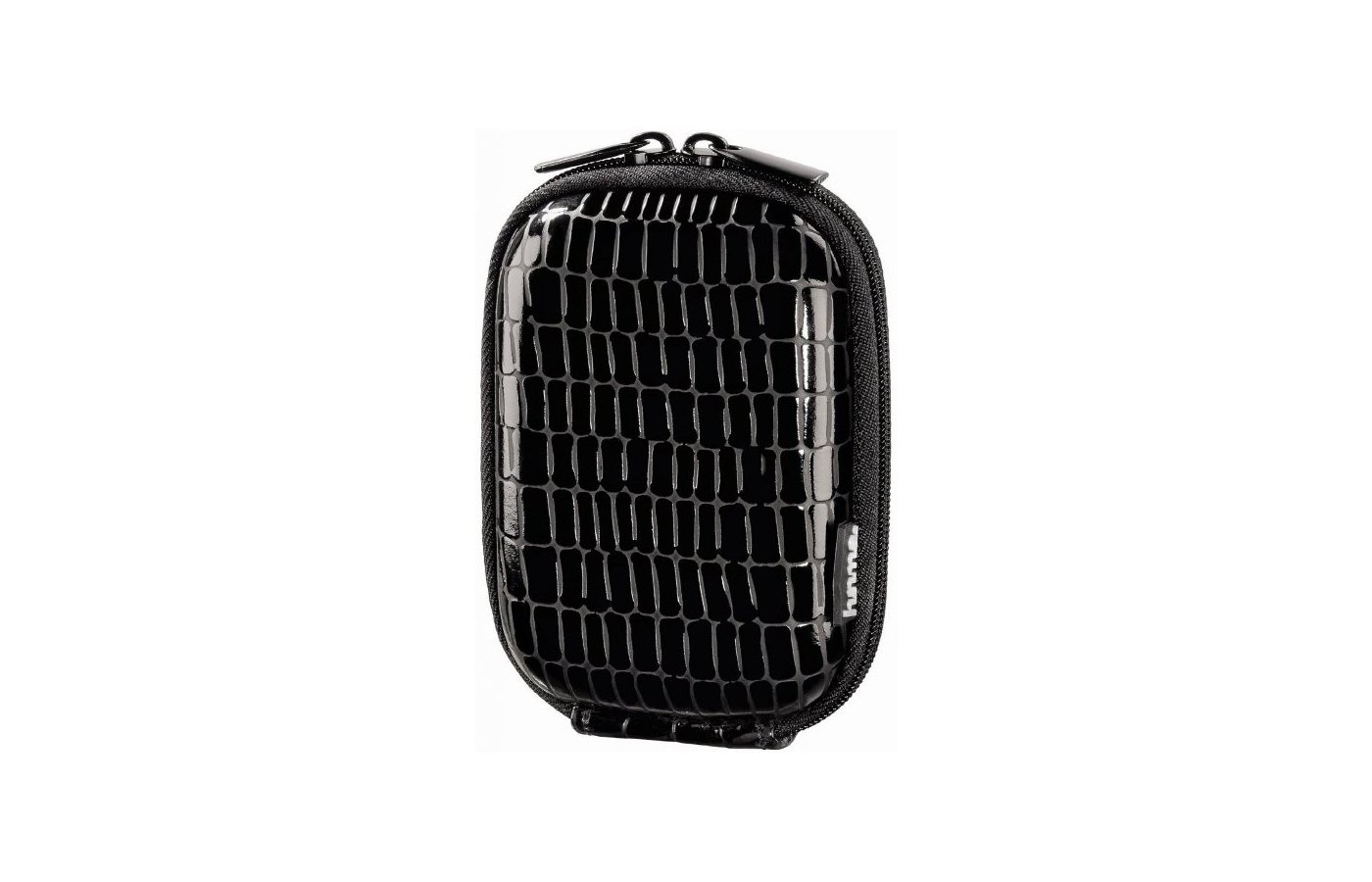 Сумка для фотоаппарата HAMA  Hardcase Croco 40G черный H-115735