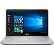 Фото Ноутбук ASUS N752VX-GC277T /90NB0AY1-M03350/ intel i7 6700HQ/16Gb/1000Gb/DvDRW/GTX 950M 4Gb/17.3FHD/WiFi/Win
