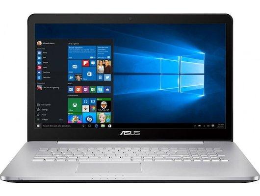 Ноутбук ASUS N752VX-GC278T /90NB0AY1-M03360/