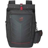 """Рюкзак для ноутбука Asus ROG Ranger черный/красный нейлон/резина (90XB0310-BBP010) для ноутбука 17"""""""