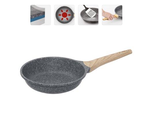 Сковорода Nadoba 20 см MINERALICA литой алюминий с 5 слойн покр. + индукц. 728419