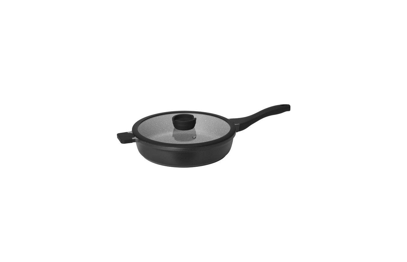 Сковорода Nadoba глубокая 28 см GRANIA литая 728115
