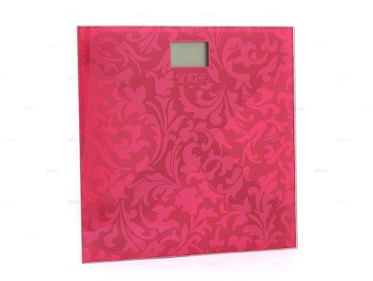 Весы напольные SINBO SBS-4430 красный