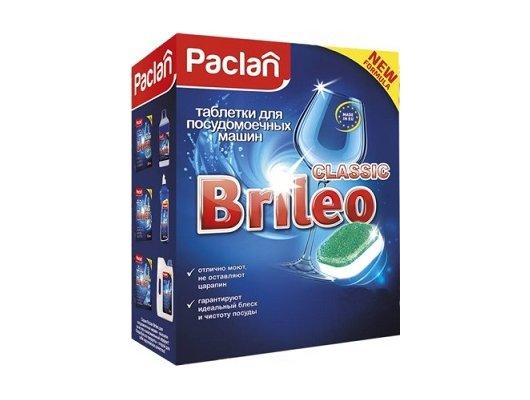 Таблетки для ПММ PACLAN 419240 BRILEO CLASSIC 14шт