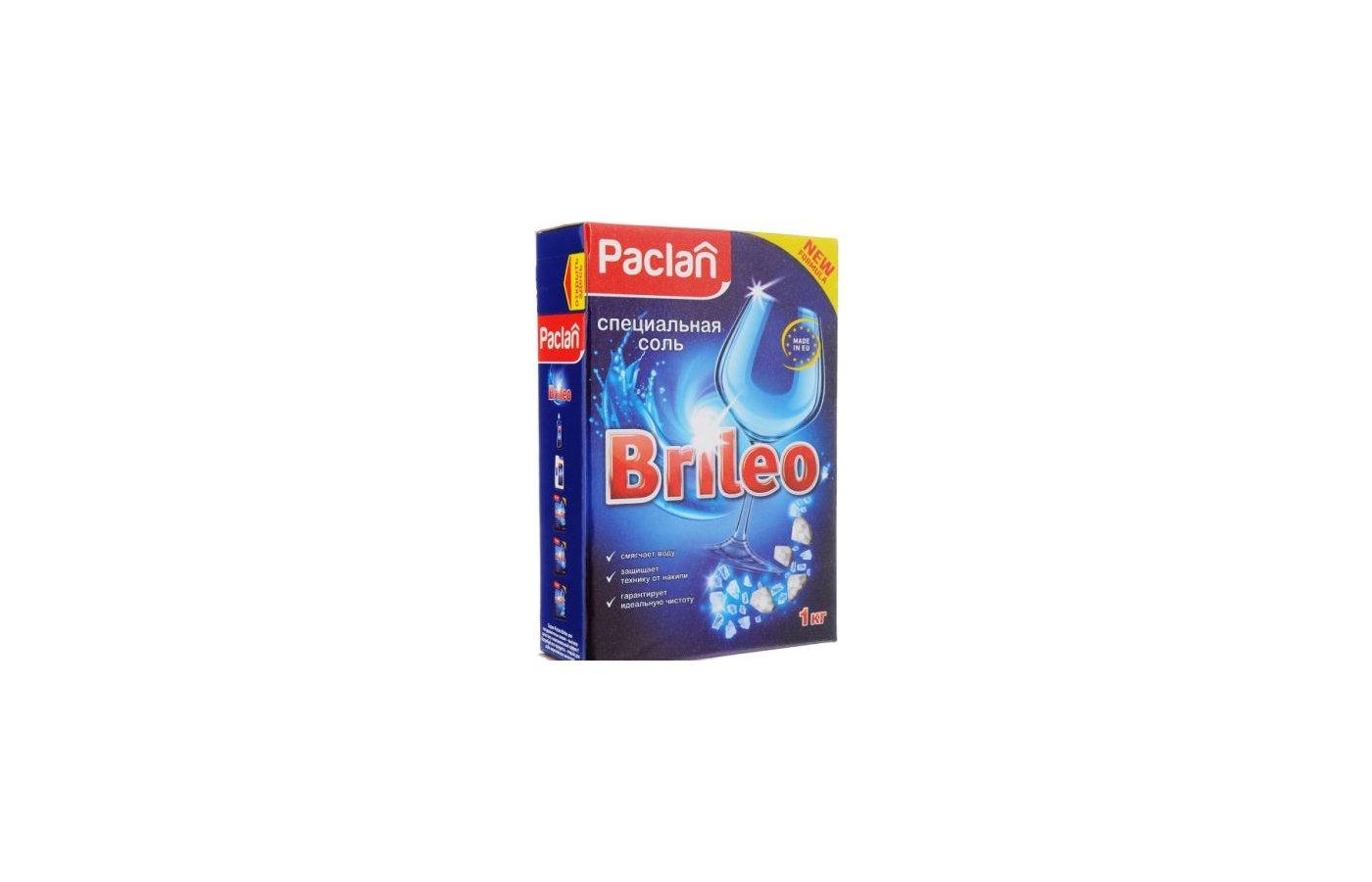 Соль для ПММ PACLAN 419150 BRILEO 1кг