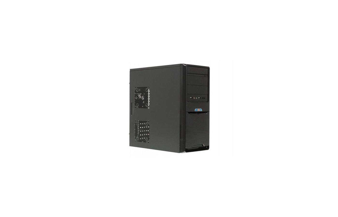 Корпус Formula FN-339P черный 500W ATX 1x80mm 2xUSB3.0 audio