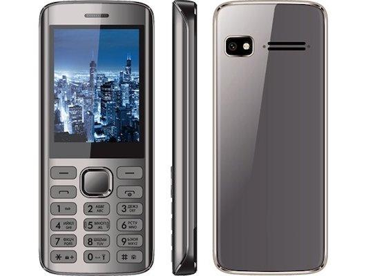 Мобильный телефон Vertex D515 темно-серый