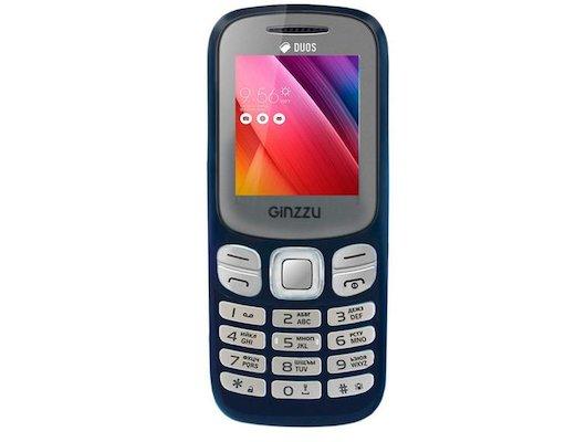 Мобильный телефон Ginzzu M103D mini Blue