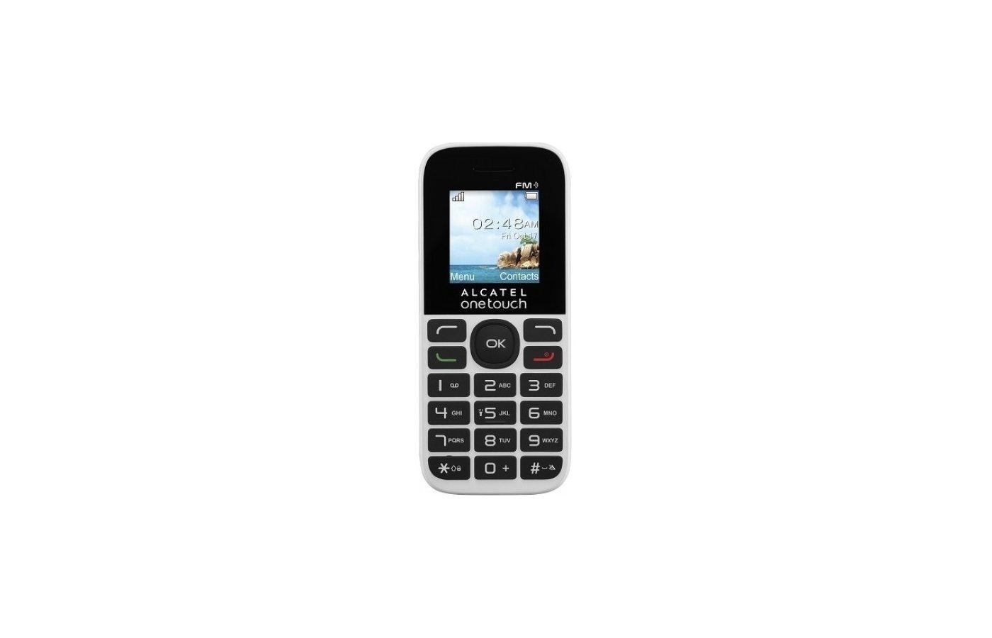 Мобильный телефон Alcatel 1013D white