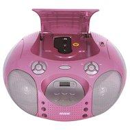 Фото Магнитола BBK BX-110U розовый/серебристый