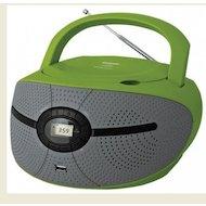 Магнитола BBK BX-195U зеленый/серый