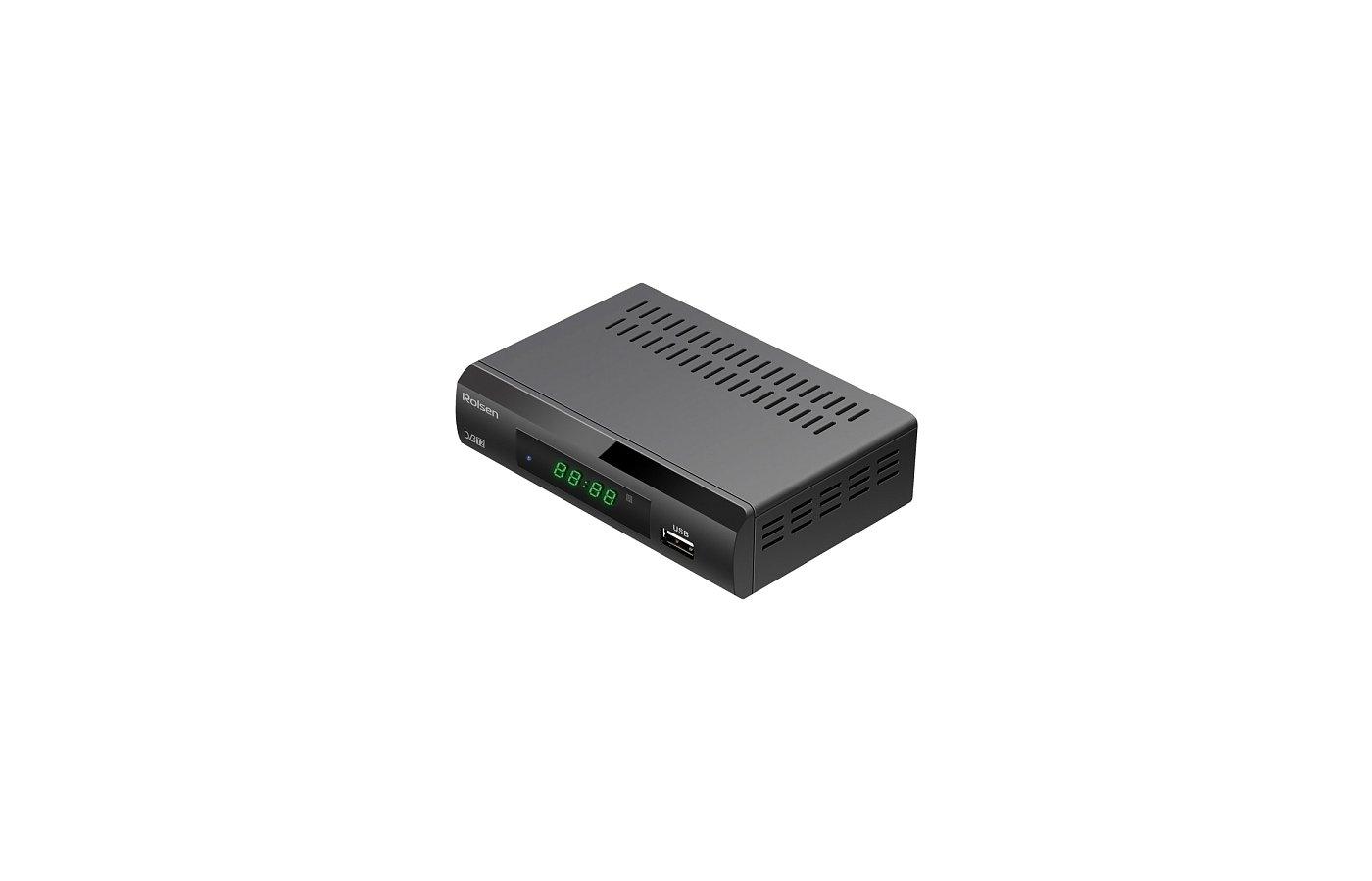 DVB-T2 ресивер Rolsen RDB-529