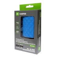 Фото Портативный аккумулятор HARPER PB-4401 blue