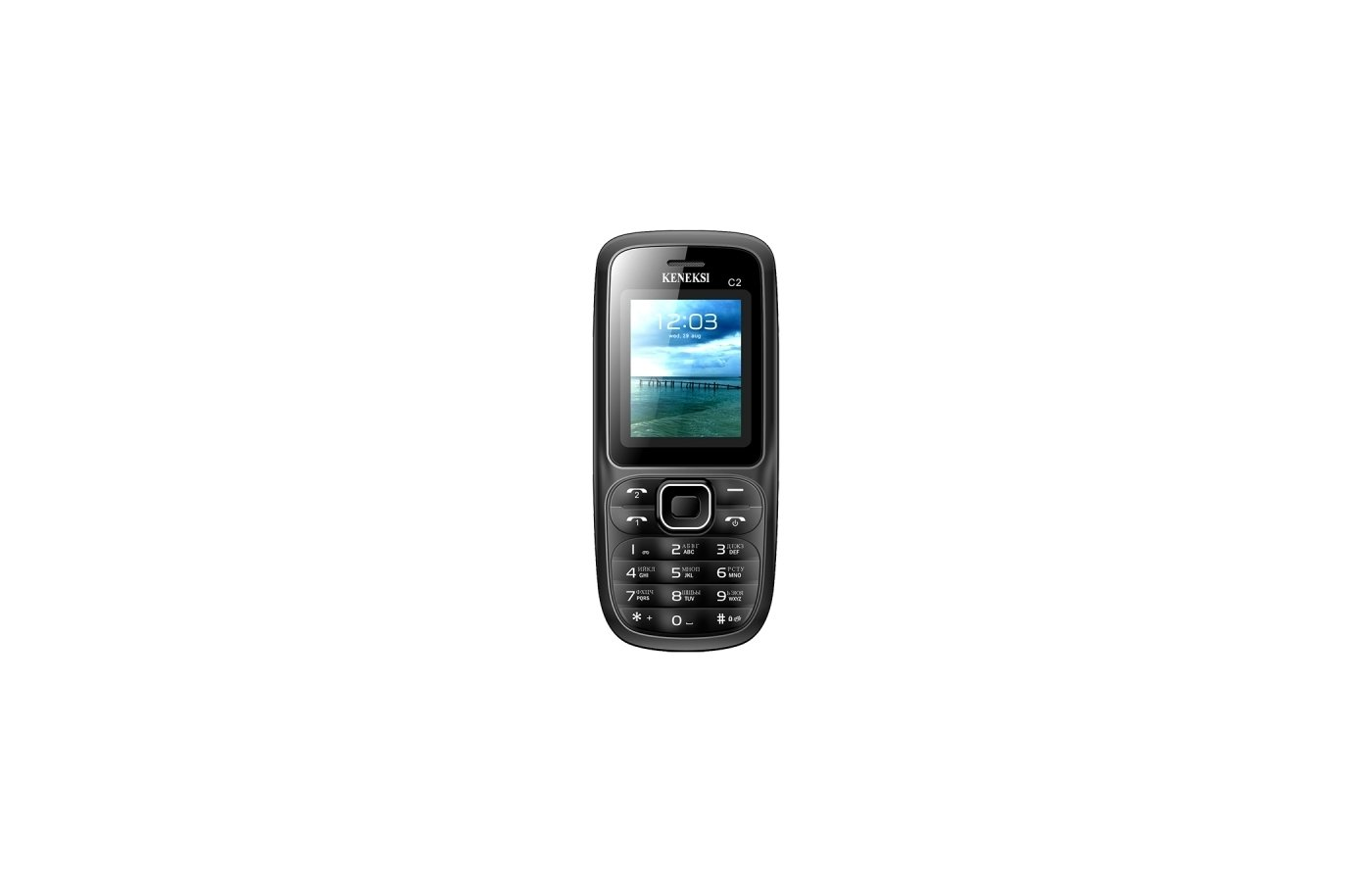 Мобильный телефон KENEKSI C2 Black-Gray