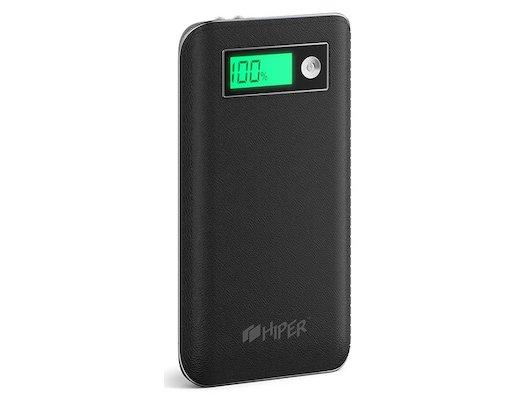 Портативный аккумулятор Hiper PowerBank XPX6500 6500mAh 2.1A черный 2xUSB