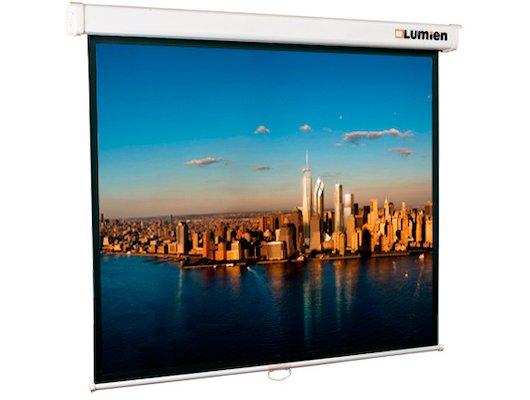 "Экран для проектора LUMIEN Master Picture 200"" 305х406 4:3 (LMP-100114) настенный"