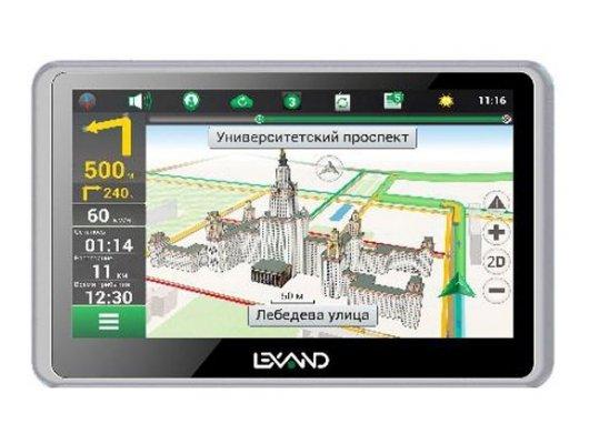 Навигатор LEXAND SB-5 PRO HDR