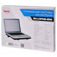 Фото Подставка для ноутбука BURO BU-LCP140-B114 черный